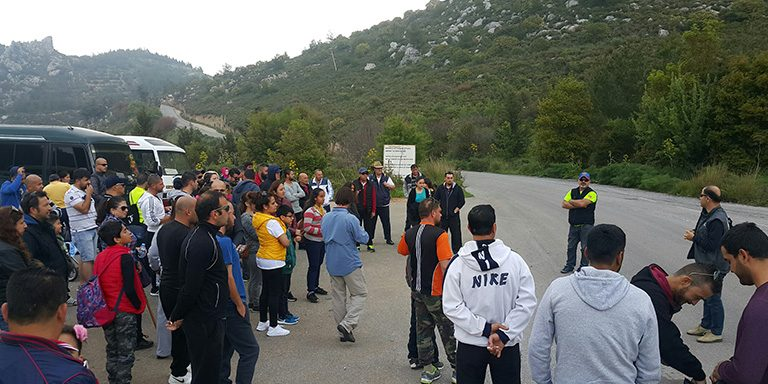 """INTERGAZ FAMILY Nature Walk"" was held with the participation of our employees and their families."