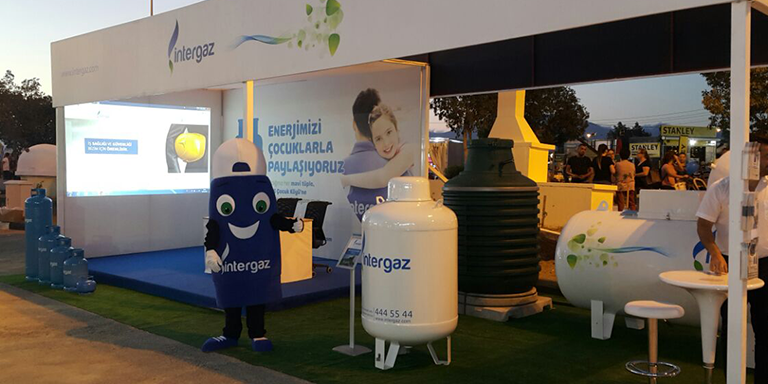 İntergaz Received Great İnterest in Participating At The Fair For The First Time This Year.
