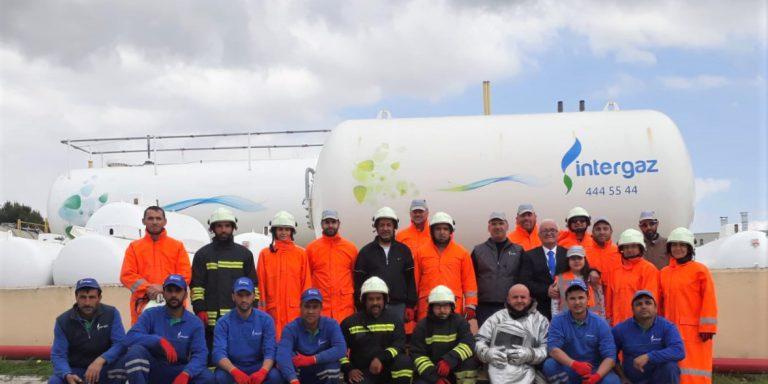 İntergaz'dan 'LPG Bilgilendirme ve Yangın Söndürme Eğitimi'