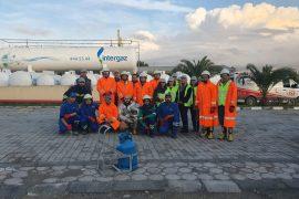 """13 Aralık 2019 tarihinde Intergaz dolum tesislerinde """"LPG Teknik Bilgilendirme ve LPG Yangınlarına Müdahale"""" eğitimi düzenlendi."""